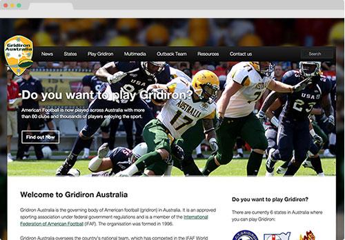 gridironaustralia.org.au